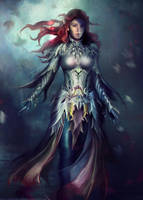 Elven Armor - Dungeons and Dragons by Eddy-Shinjuku