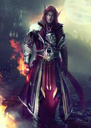 VYRANDiL - World of Warcraft (OC Commission) by Eddy-Shinjuku