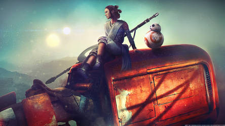 Home - Star Wars: The Force Awakens by Eddy-Shinjuku