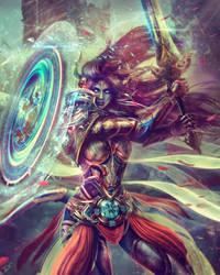 Paladin Draenei - World of Warcraft by Eddy-Shinjuku