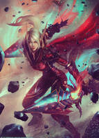 Aislinn the Rogue - World of Warcraft Commission by Eddy-Shinjuku