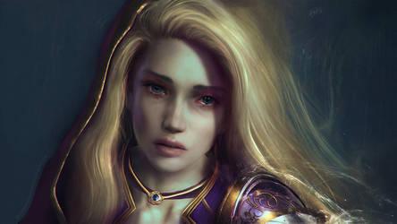 World of Warcraft Commission - Meloncholia Jaina by Eddy-Shinjuku