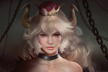 bowsette scrapped by Eddy-Shinjuku