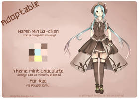 Adoptable: Mintia-chan(OPEN) by Seni-chii