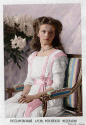 Olga 1910 ~ colored photo by natsafan