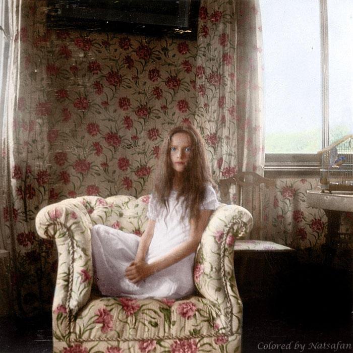 Tatiana Nikolaevna in 1906 ~ colored photo by natsafan