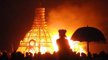 Temple Burn 2014 by NeonGekko