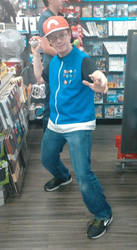 Gamestop Employee Would Like To Battle by MetalShadowOverlord