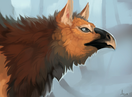 Griffin Face by ANicB