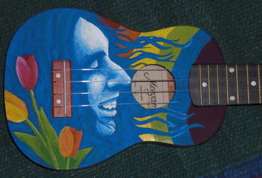 Tiny Tim ukulele portrait by Tufsa