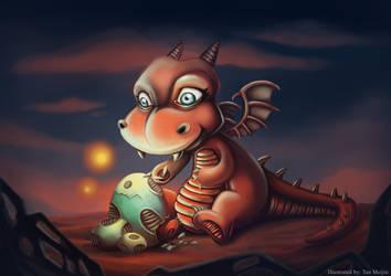 Baby Dragon by meiji1990