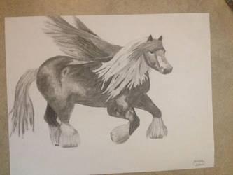 Pegasus by LunarCatNinja