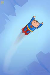 Little Bug as Superman by thelineking