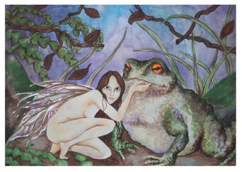 Fairy and Toad by Nuka122