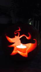 Zero pumpkin carving by FlamewolfTheWhite