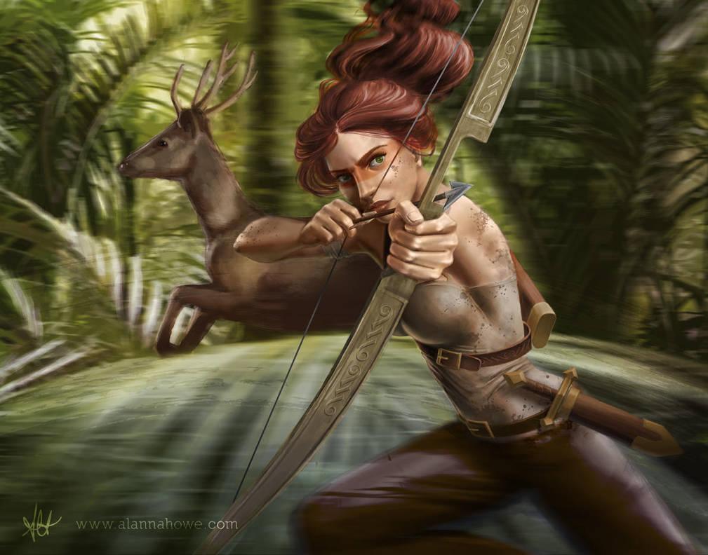 Artemis by alannahowe