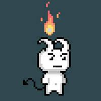 a little demon by LordVanDemon