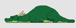 Sleeping Dragon by LordVanDemon
