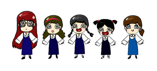 school girls :) by Eman-AlKaabi