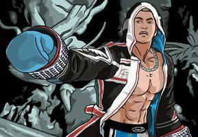 Steve Fox (Tekken 7) Digital Drawing by AyTheFourth