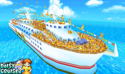 We Are Daisy Cruiser by DaisyPotential