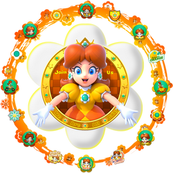 The 5th official logo of We Are Daisy by DaisyPotential