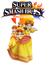 #DaisyForSmash support Logo by DaisyPotential