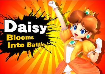 Super Smash Bros. : Daisy Blooms Into Battle ! by DaisyPotential