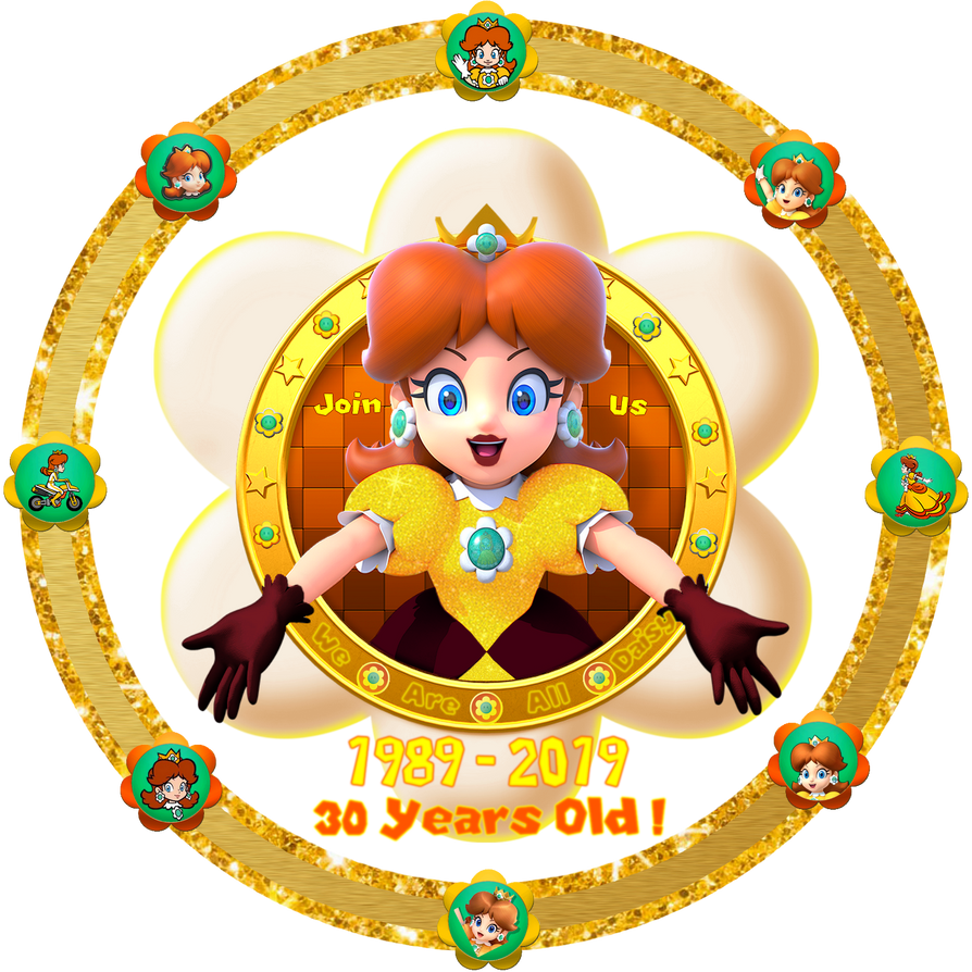 The 6th official logo of We Are Daisy, 30th year ! by DaisyPotential