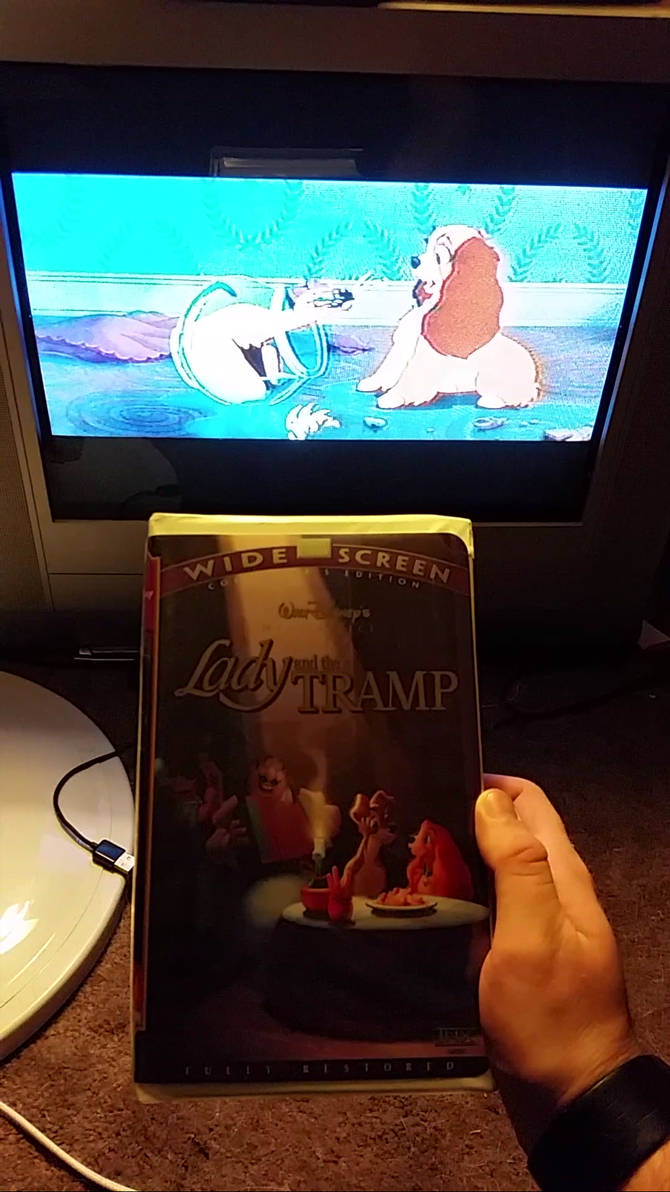 my vhs collection 25  lady and the tramp widescree by scamp4553 on deviantart