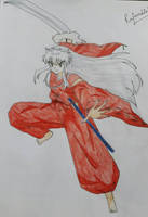 Inuyasha - Just a try !! :-) by Reina72383