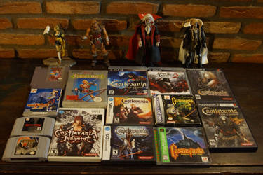 My Castlevania Collection by TaryBelmont