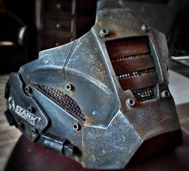 Post Apocalyptic Military Mask by steelgohst