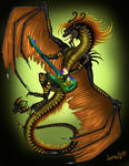 rock dragon by Sunima