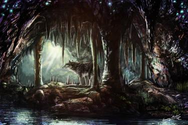 Zaboras cave by Sunima
