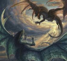 Dragons -with progress vid- by Sunima