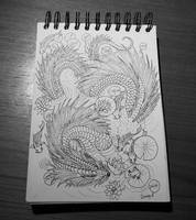 Inktober 03 by Sunima