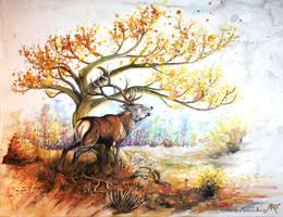 Autumn wind by Sunima