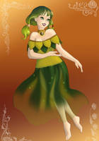 Farore, Goddess of Courage by GamerGirl010