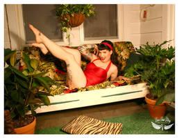 Dolly in the Tiki Room by vivavanstory