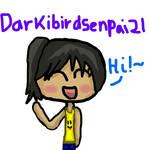 Darkibirdsenpai21's Fan-Art by Mareena-San