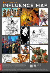 Influence Map by Celestial4ever