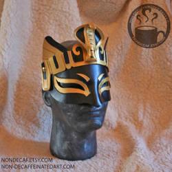 Bastet Cobra Headdress Mask style 2 by nondecaf