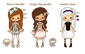 My-plush and machii-chan gift by 041296