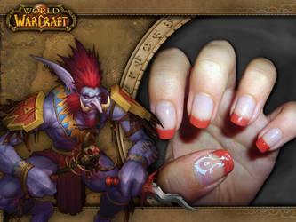 Horde nail art by 041296