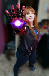 Iron Woman / Iron man cosplay by 041296