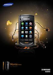 Samsung monte by Darssssh