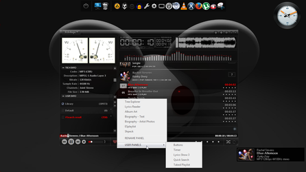 xch4nge can acts as the DUI foobar... by mire777
