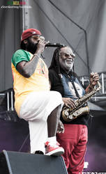 Tarrus Riley and Dean Fraser by MamaPixs