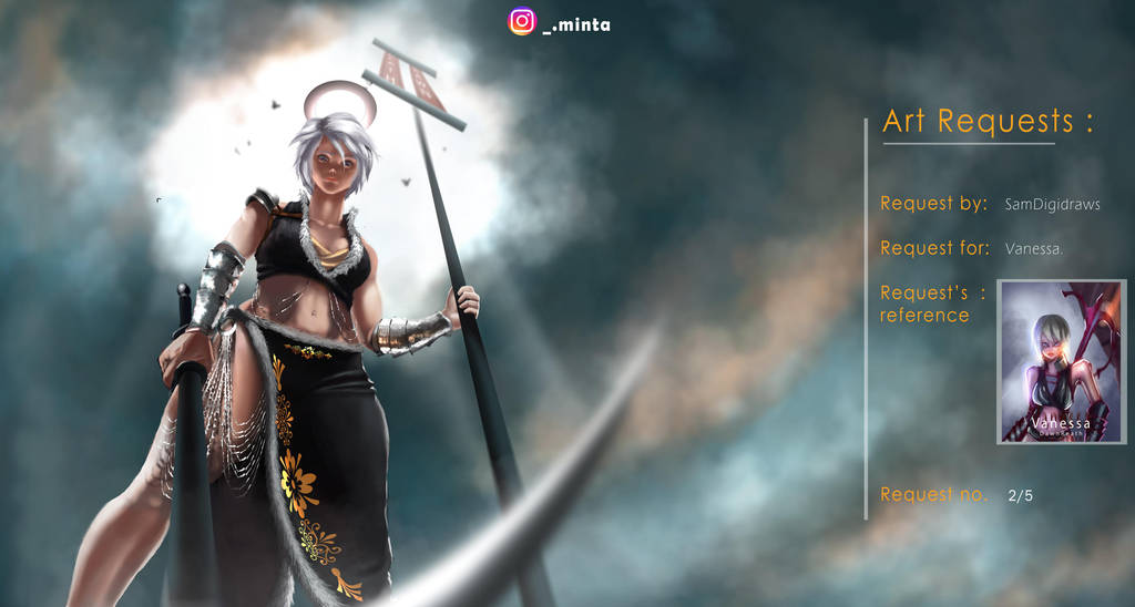 Art request -Vanessa by Prabhat34